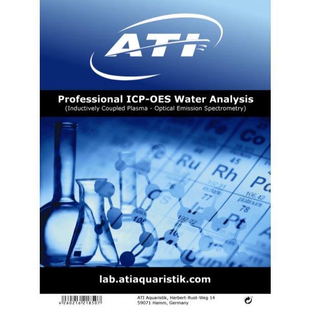ATI ICP-OES Water Analysis  3 stk Test