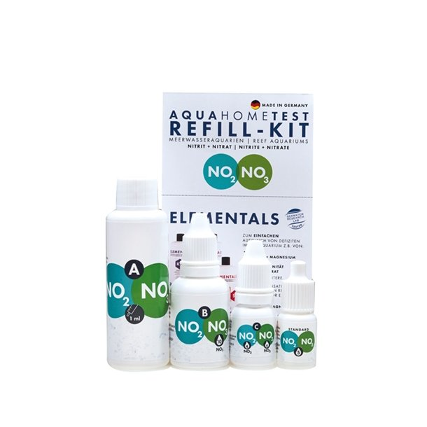 AquaHomeTest NO2+NO3 Refill-Set